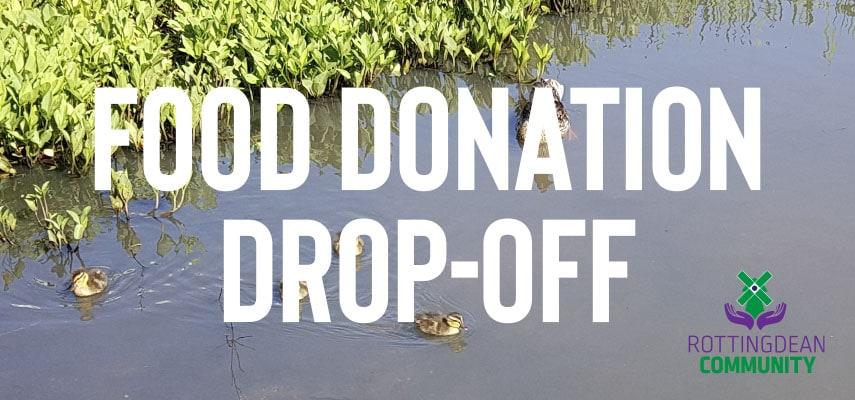 Food Donation Drop Off