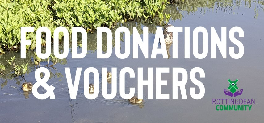 Rottingdean Village Food Donations and Vouchers