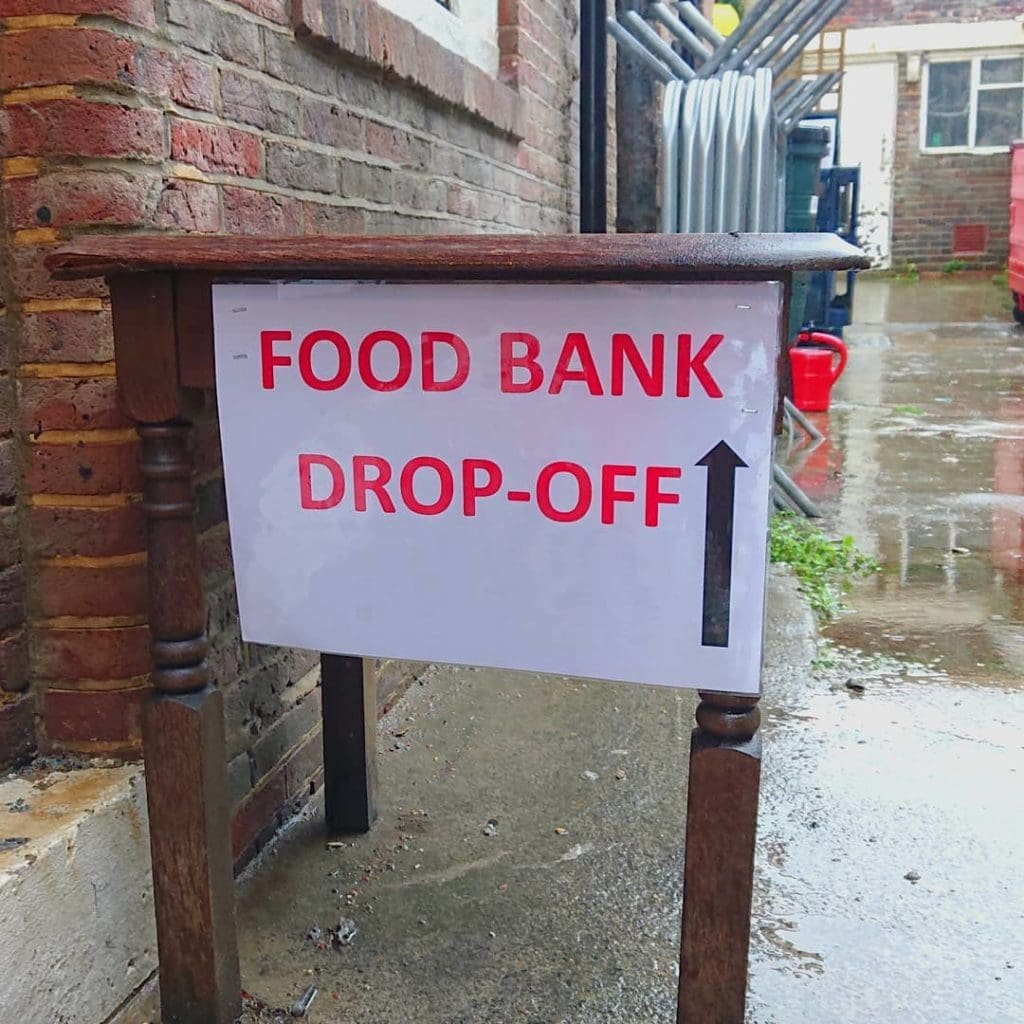 The Queen Vic Rottingdean Donation Drop Off Point
